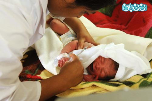 واکسن نوزاد در بدو تولد