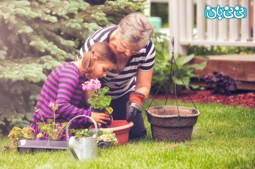کمک کردن بچه ها در خانه؛ با پاداش یا رایگان؟