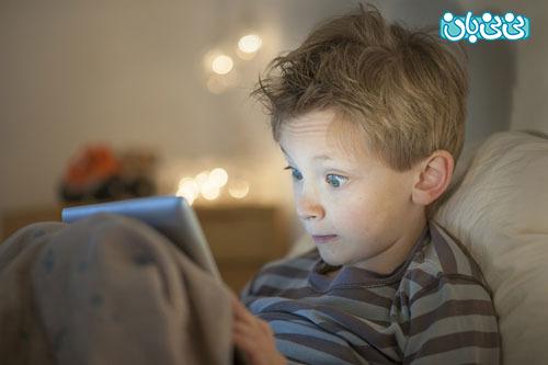 چشم کودکان، خطر موبایل و تبلت