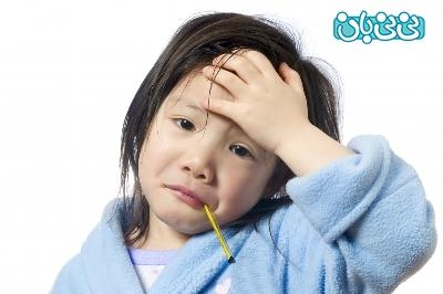 درمان سرماخوردگی نوزاد شیرخوار