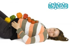 بسته تغذیه سالم در بارداری، بخور و نخورهای سه ماهه دوم