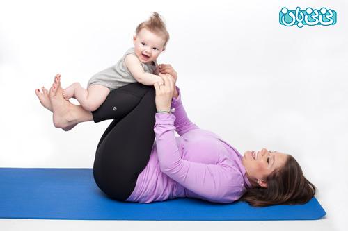 تناسب اندام بعد از زایمان، پیشگیری از چاقی شکمی