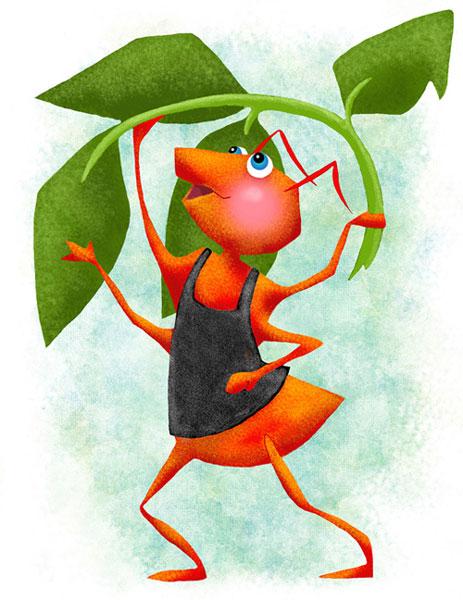 شعر: مورچه ی پا شکسته