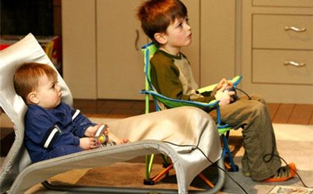 اثر بازی های کامپیوتری بر کودک