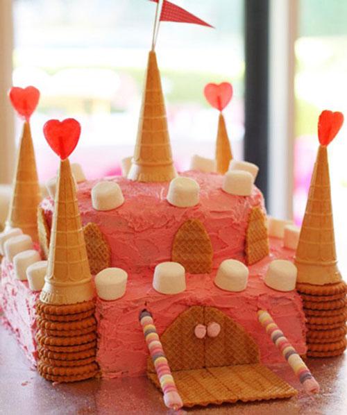 کیک های ساده و زیبای کودکان
