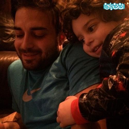 عکس لیلا فروهر و فرزندش