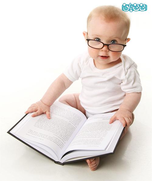 اگر نوزاد باهوش ميخواهيد بخوانید