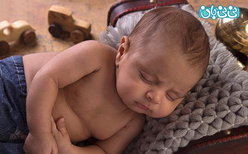 راهکارهای برای خواباندن نوزاد قبل از عکاسی