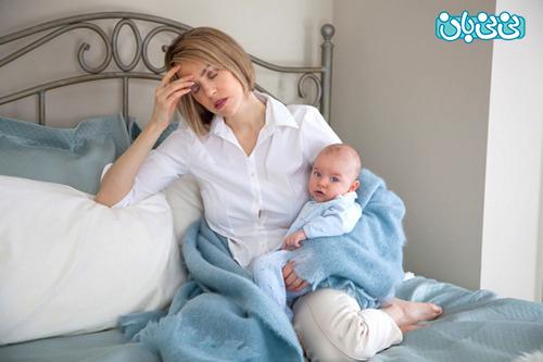 چرا نوزاد در شب نمی خوابد