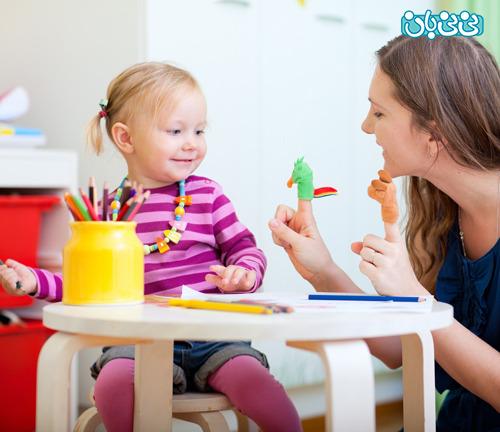 کلماتی که کودک دو ساله بایستی بگوید
