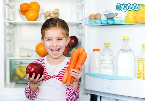 تغذیه کودکان سالم، چه شکلیه؟!