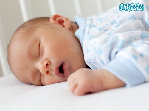 نوزادم بد خواب شده