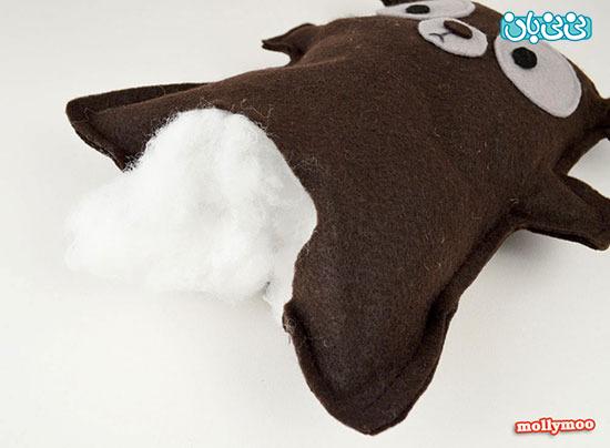 کاردستی/ ساخت خرس نمدی