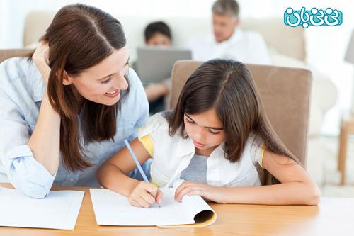 ترغیب کودک برای انجام تکالیف مدرسه