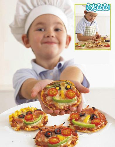 پیتزا بپزید