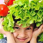 غذاهای ضد سرطان، کودک سالم