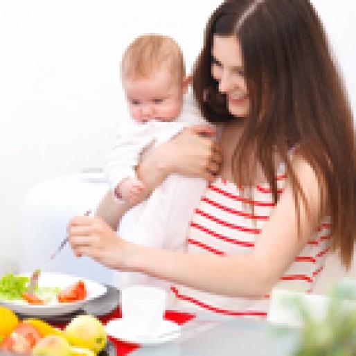 بهترین تغذیه در دوران شیردهی