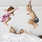 رابطه زناشویی در حضور بچه، اگر دید!