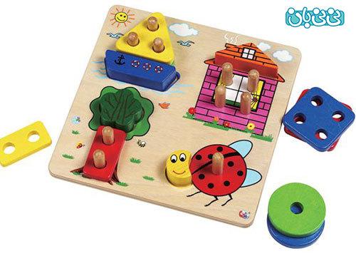 اسباب بازی های آموزشی برای کودکان