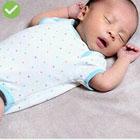 درست خوابیدن نوزاد، پیشگیری از مرگ ناگهانی
