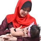 نحوه شیردهی به نوزاد، وضعیت صحیح مادر