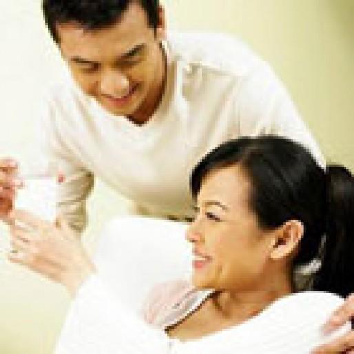 ماه سوم بارداری، نقش شوهر