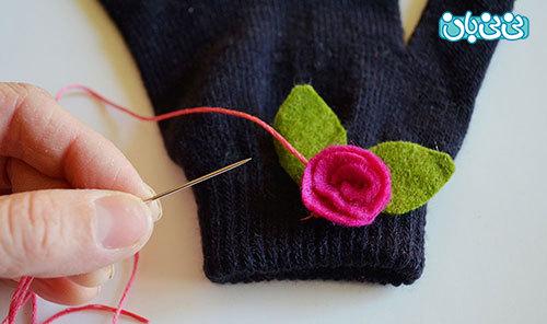 هنرهای مادرانه، آموزش تکهدوزی روی لباس کودک