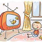 تلویزیون برای کودک، چه اندازه لازم؟