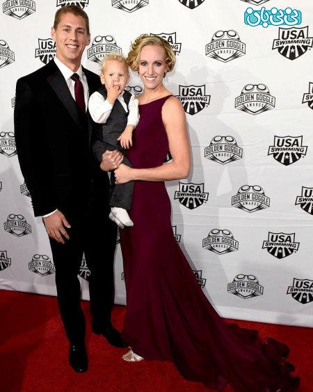 بارداری ورزشکاران، قهرمان سه المپیک دوباره مادر شد!