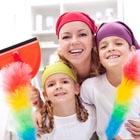 آسم در کودکان، خانهتکانی کم خطر