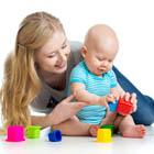 بازی با نوزاد چهار ماهه، چگونه؟