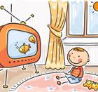 تلویزیون دیدن کودک، خطر در کمین