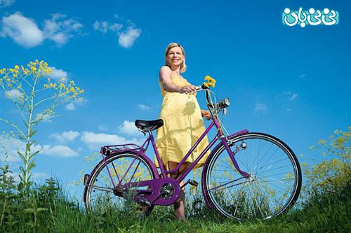 دوچرخه سواری در بارداری، ایول!