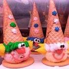 طرز تهیه بستنی برای کودک، نوع دلقکیش