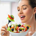 مقابله با عفونت بدن، تاثیر جویدن غذا