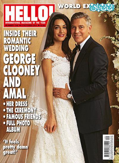جورج کلونی و همسرش، دوقلودار میشوند؟