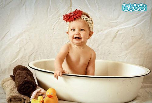 شستن بچه، نکاتی برای تمیزی توام با هیجان!