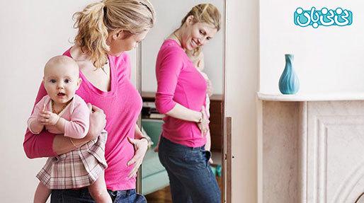 روش کوچک کردن شکم بعد از سزارین