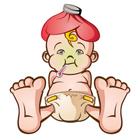 کاهش تب در نوزادان، بی قراری می کند