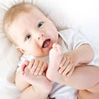 رشد حرکتی نوزاد سه ماهه، روز به روز