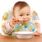 غذای کمکی برای نوزاد هشت ماهه، چی خوبه؟