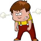 کنترل خشم کودک، از کوره در نروید