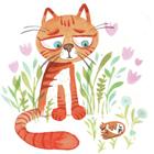 شعر کودکانه شاد، لاله و گربه
