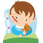 اندازه گیری تب کودک، هول نباشید