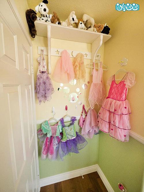 طراحی دکوراسیون اتاق دخترونه