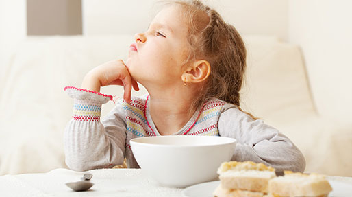 بدغذا بودن دختر بچه، راهکار موثر