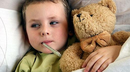 تب شدید بچه، بی اشتهایی طبیعی است؟