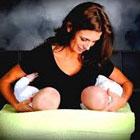 شیردادن به نوزادان دوقلو، آموزش