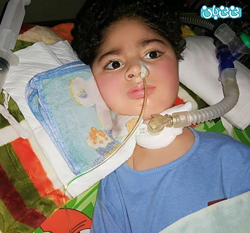 اینستاگرام حدیثه تهرانی، علی کوچولو را دعا کنید