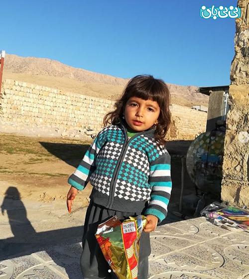 اینستاگرام نرگس کلباسی، روانشناسی کودکان زلزله زده